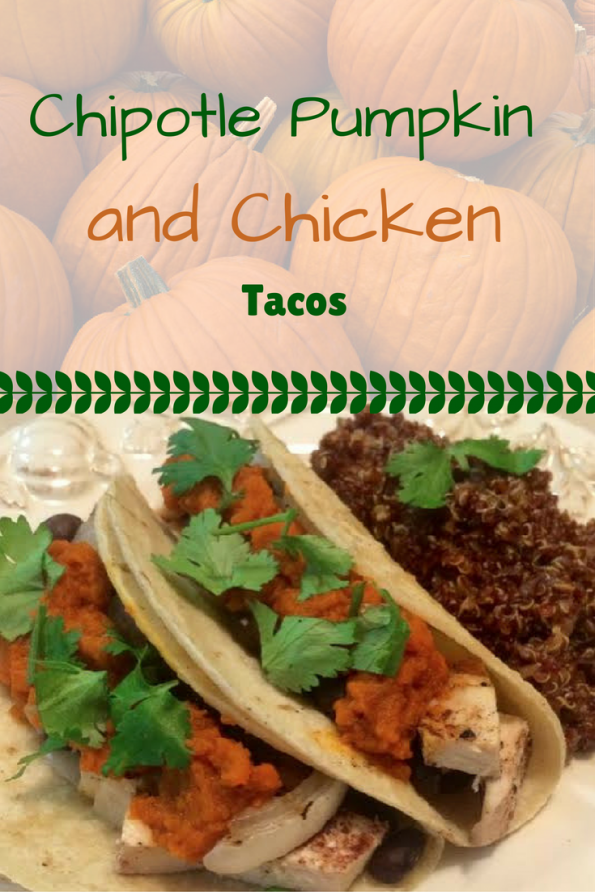 Perfect for a fall Taco Tuesday, these tacos use pumpkin in a new and fun way! 2geekswhoeat.com #tacos #pumpkin