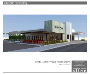 crab & mermaid exterior