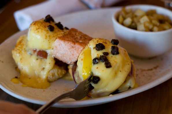 Hash Kitchen Smoked Salmon Benedict
