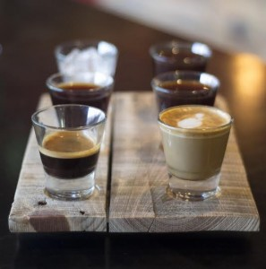 Infusion Coffee and Tea Coffee Flight