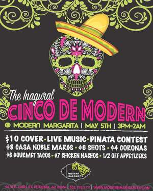 Cinco de Modern Flyer