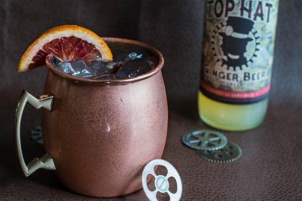 Mules Verne Top Hat Ginger Beer