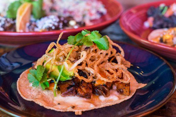 Spiced-Butternut Squash Taco