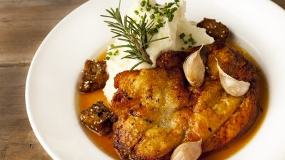 Paul Martin's Brick Chicken, one of the delicious entrees offered at all Paul Martin's American Grills