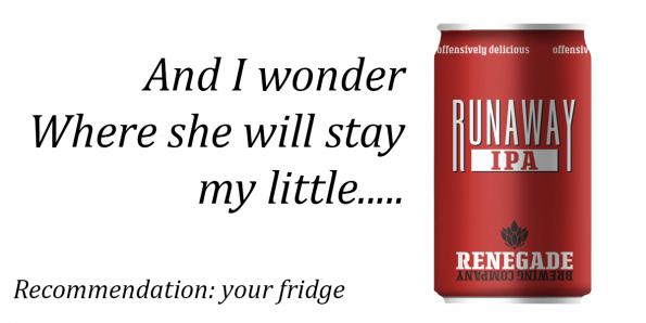 Renegade Runaway IPA