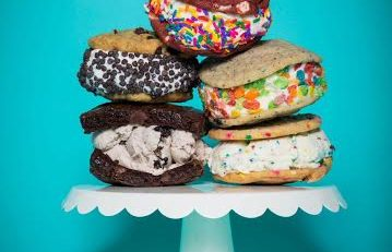 The Baked Bear is giving away free ice cream sandwiches during their Grand Opening on May 28th 2016!