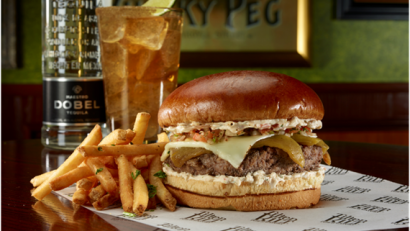 Tilted Kilt National Burger Day
