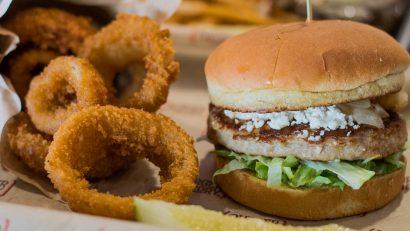 Turkey Burgers are just as good as regular burgers at Burger Theory.