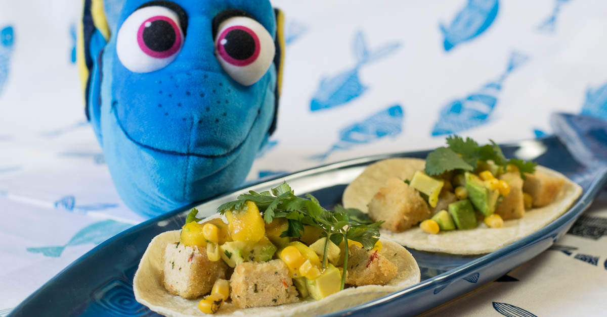 Fish are friends not food tacos a finding dory inspired for Fish are friends not food