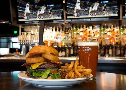 Thirsty Lion Tavern Burger