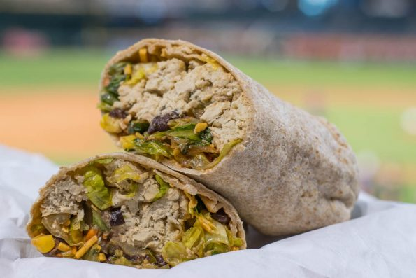 Chase Field Kick'n Chick'n Wrap