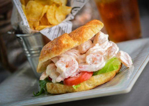 Crab & Mermaid Shrimp Salad Sandwich
