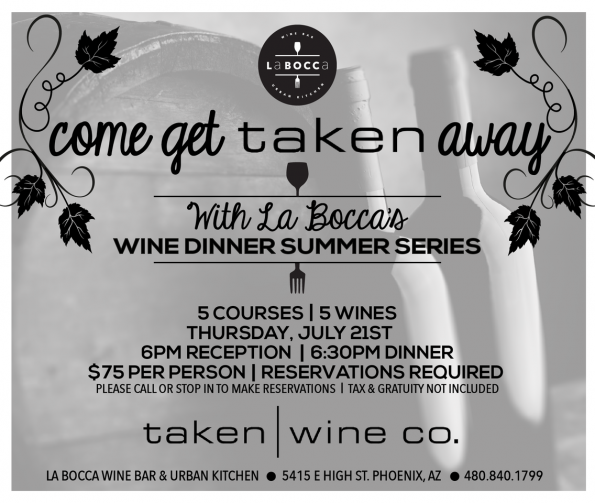 La Bocca Winemakers Dinner