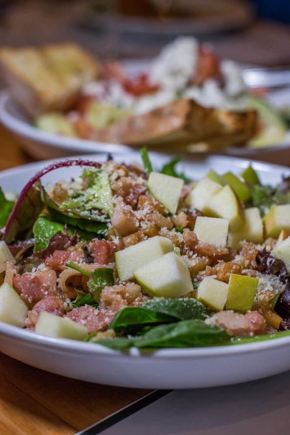 Roasted Parsnip and Pecorino Salad at Wink 24 2geekswhoeat.com #food #phoenix