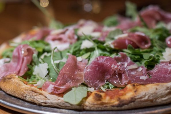 Prosciutto Wood Fired Pizza at Wink 24 2geekswhoeat.com #food #phoenix