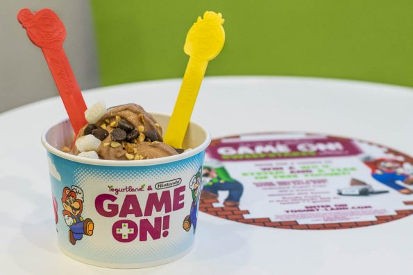 Celebrate summer and video games with Yogurtland's summer promotion with Nintendo! 2geekswhoeat.com #videogames #frozenyogurt