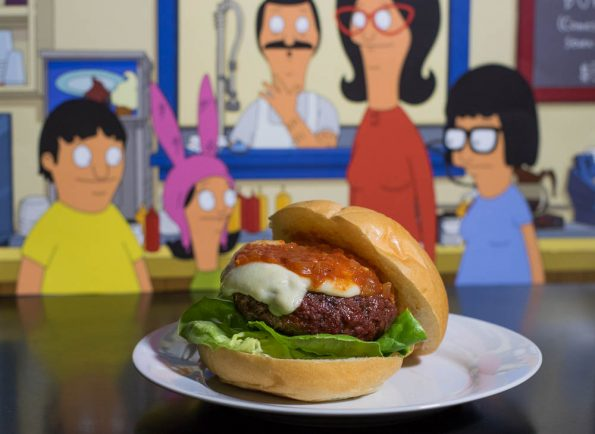 Texas Chainsaw Massa-Curd Burger
