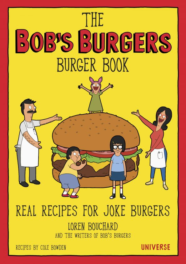 Bob's Burgers Burger Book Cover