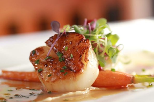 House of Tricks Seared Diver Scallops