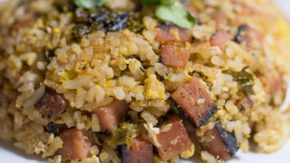 Market Street Kitchen Spam Fried Rice Close Up