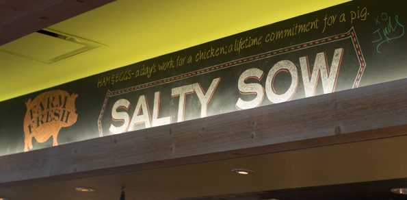 Salty Sow Sign