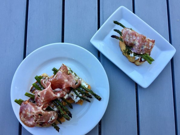 asparagus-bruschetta