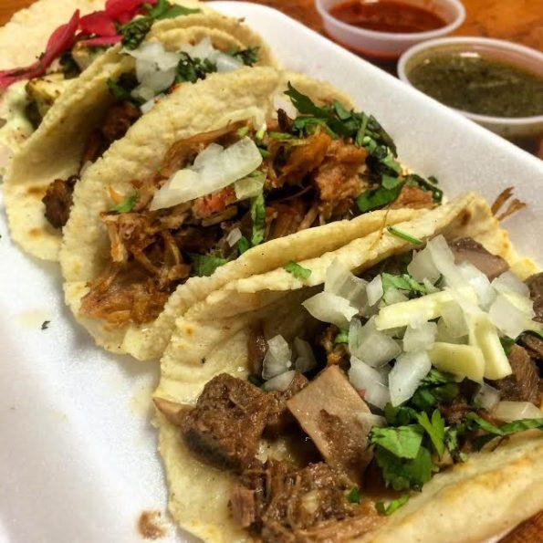 Tacos Chiwas' Lengua Tacos
