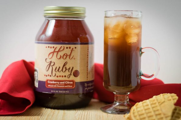 Up your coffee game with this new fall favorite, Hot Ruby! 2geekswhoeat.com #coffee #nonalcoholic