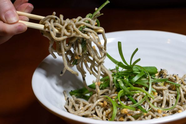 Chilled Sesame Soba