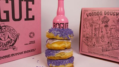 Voodoo Doughnut Grape Guerrilla