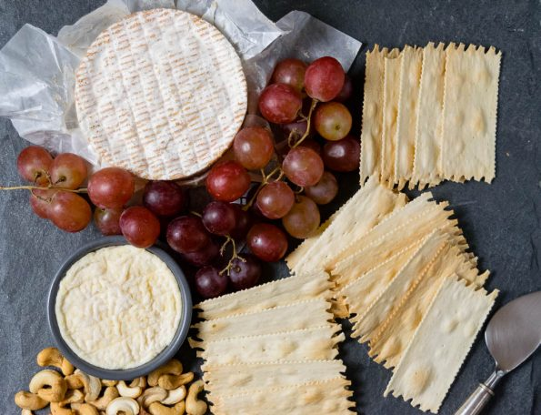 With help from Whole Foods, The Geeks show you how to make a holiday cheese board fit for royalty! 2geekswhoeat.com #Cheese #Thanksgiving