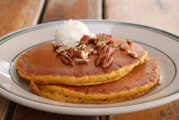 Pumpkin Pancakes OBH