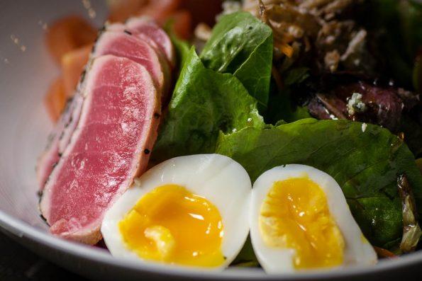 Tuna Tataki Nicoise at Zen Culinary 2geekswhoeat.com