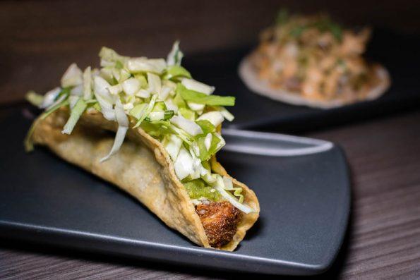 Pork Taco at CRUjiente Tacos 2geekswhoeat.com
