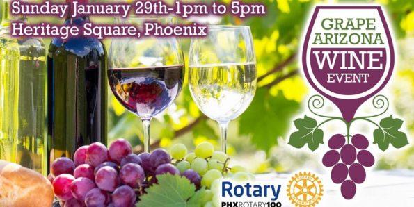 Grape Arizona Wine Event