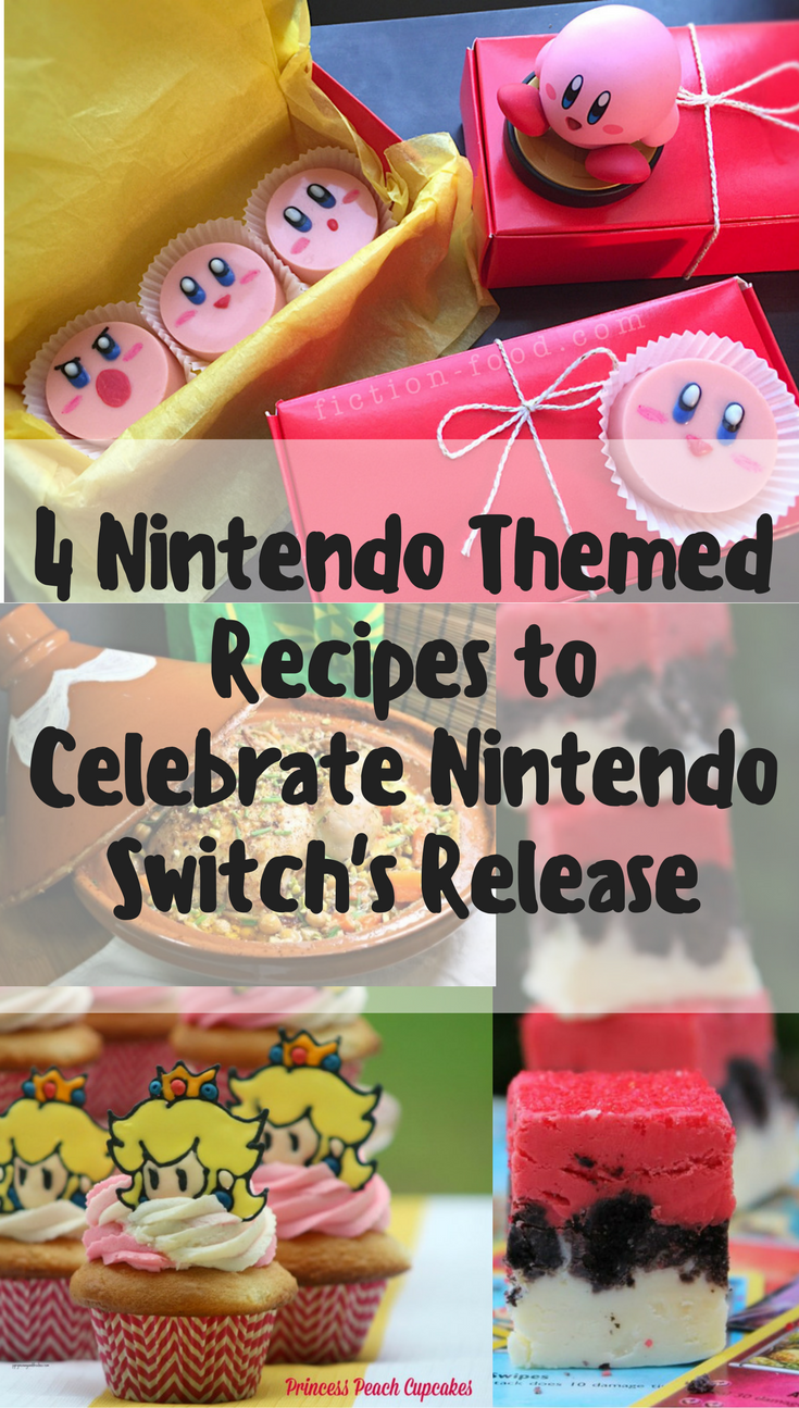 Video Game Recipes | Nintendo | 4 Nintendo Recipes to Celebrate the Release of the Nintendo Switch 2geekswhoeat.com
