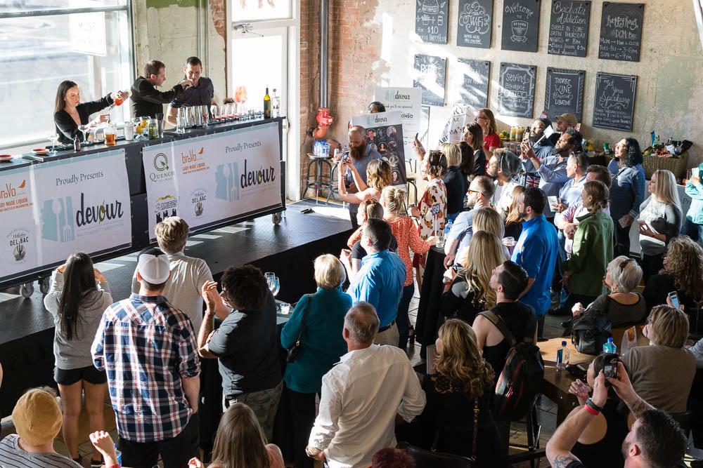 Devoured Bartender Competition Crowd