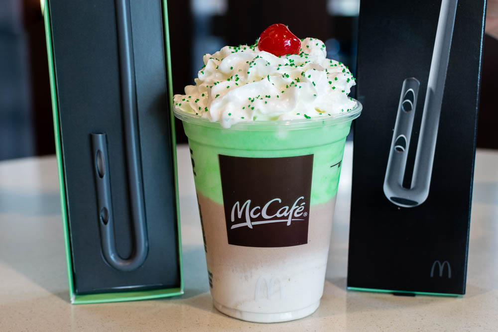 Chocolate Shamrock Shake