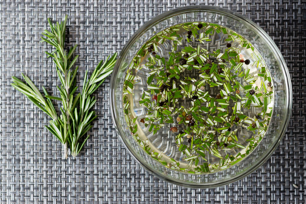 Brine Recipes | Steak Recipes | This rosemary brine is the perfect way to make an inexpensive steak seem upscale! 2geekswhoeat.com