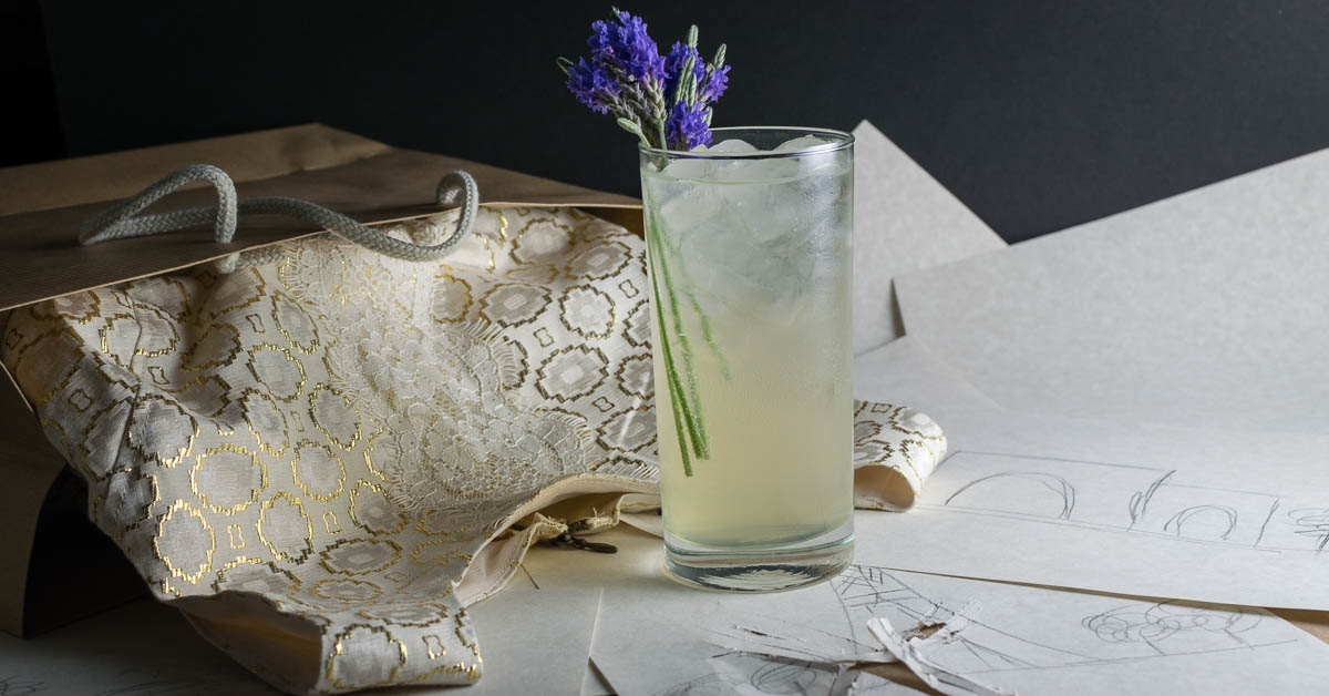 Cocktail Recipes | Gin Cocktails | The Parisian is a cocktail full of French flavors and is inspired by the movie Personal Shopper. 2geekswhoeat.com