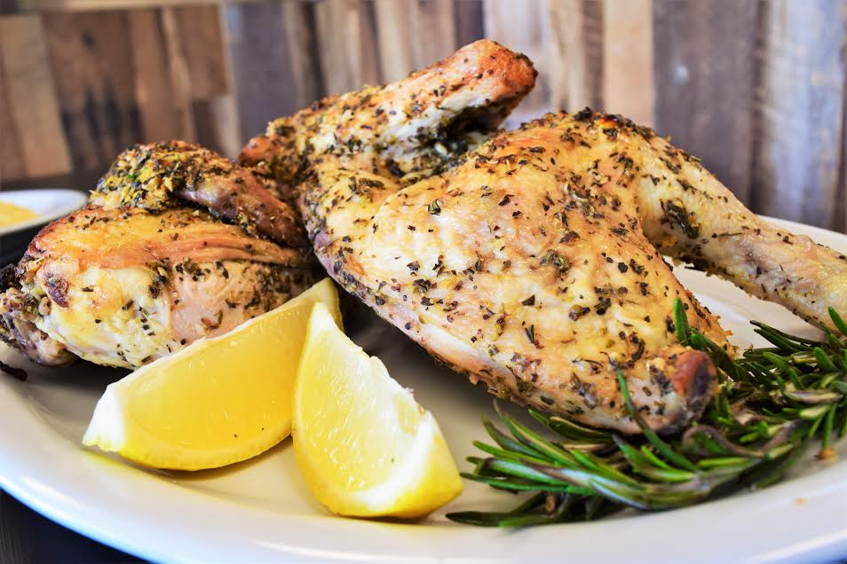 Chicken Recipes | Lemon Chicken | Chef Kody Harris of Fresko has shared his recipe for Roasted Half Chicken with Lemons 2geekswhoeat.com