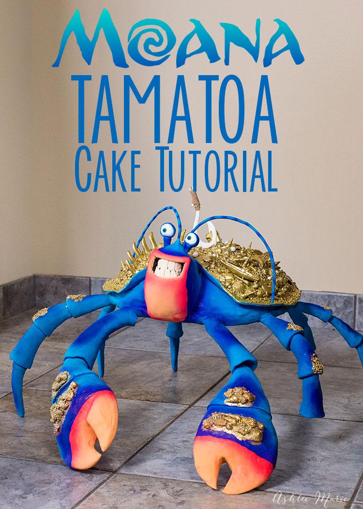 Tamatoa Cake by Ashlee Marie