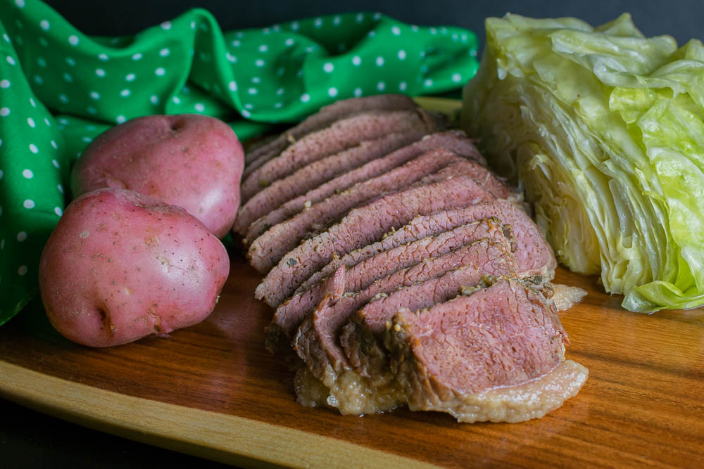 Corned Beef | St. Patrick's Day Recipes | The Geeks share some history and tips for everyone's favorite St. Patrick's Day dish, Corned Beef! 2geekswhoeat.com