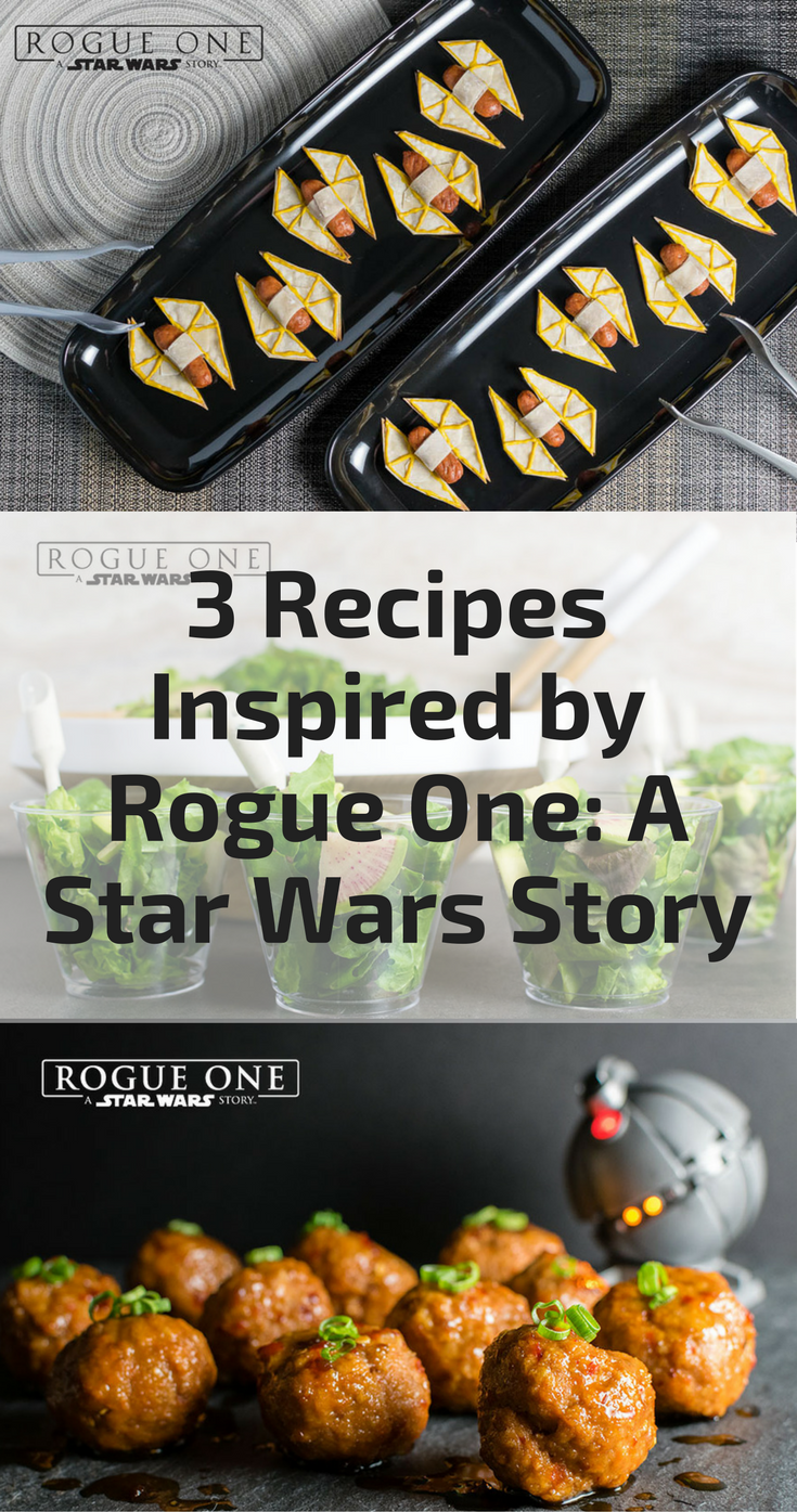 Star Wars Recipes | Star Wars | The Geeks have rounded up their trio of recipes created for Rogue One: A Star Wars Story 2geekswhoeat.com [ad]