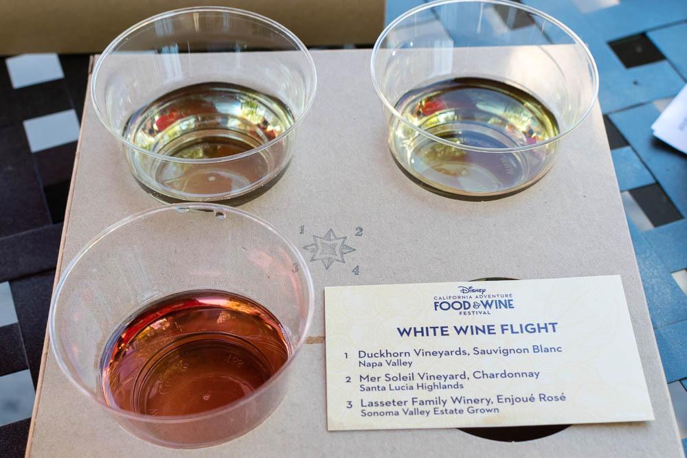 Lasseter Family Winery Enjoué Rose as part of Uncork California's White Wine Flight