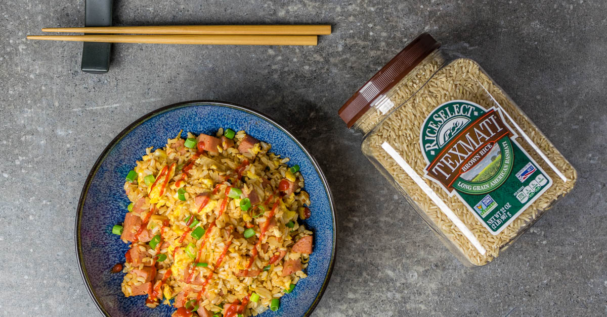 Fried Rice   Healthy Recipe Hacks  Spam and Kimchi Fried Rice isn't the healthiest meal but with a few clever hacks The Geeks show you how to make it healthier. [ad] 2geekswhoeat.com