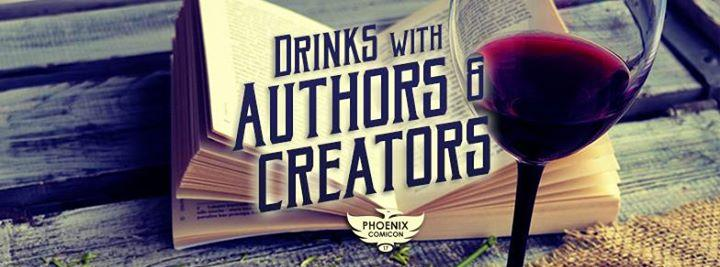 drinks with authors