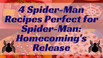 Spider-Man | Movie Recipes | Comic Book Recipes |The Geeks have rounded up 4 recipes to make for the release of Spider-Man: Homecoming! 2geekswhoeat.com