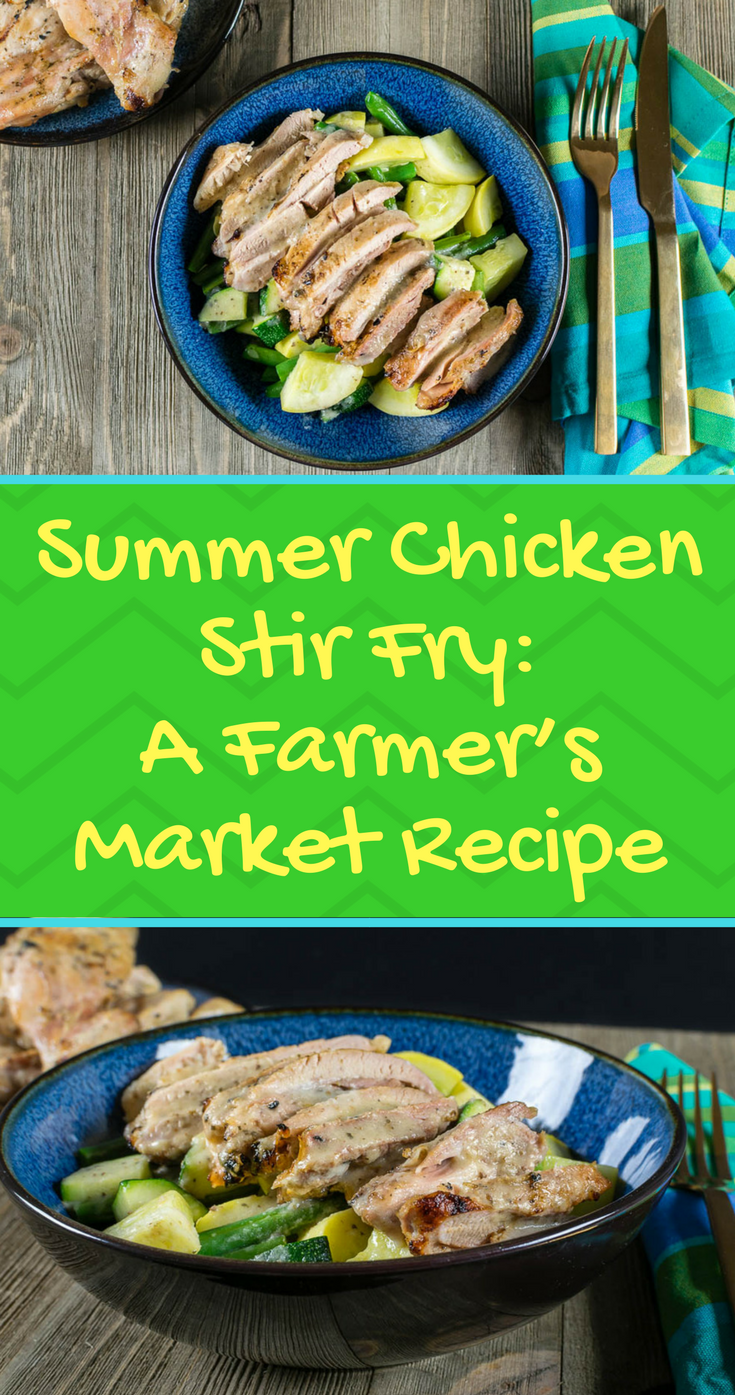 Stir Fry Recipes | Grilling Recipes | Easy Recipes | The Geeks have combined grilling and stir fry for the perfect summer chicken stir fry recipe! 2geekswhoeat.com