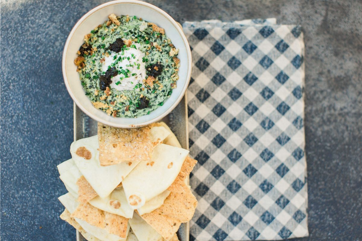 The Henry Warm Kale and Truffle Dip